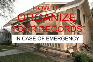 Documents to have in an emergency